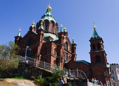 Helksinki - Uspenski Cathedral