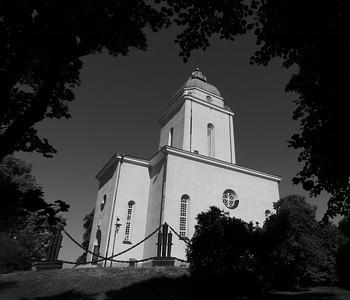 Helsinki - Church at Fortress of Suomenlinna