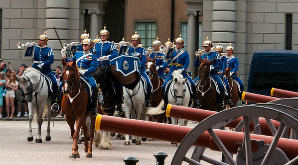 Stockholm - Changing of the Guard
