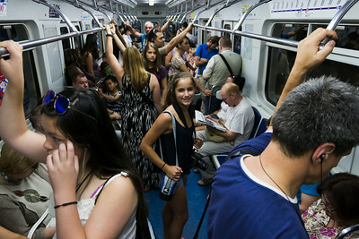 St. Petersburg - Subway Ride