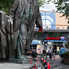 "20160806.  Scarlet and statue of Lenin in Fremont District of Seattle.  See <a href=""https://en.wikipedia.org/wiki/Statue_of_Lenin"">https://en.wikipedia.org/wiki/Statue_of_Lenin</a>,_Seattle ."