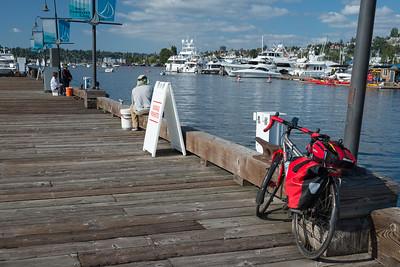 20160806.  Scarlet Seven on southern Lake Union, Seattle WA.