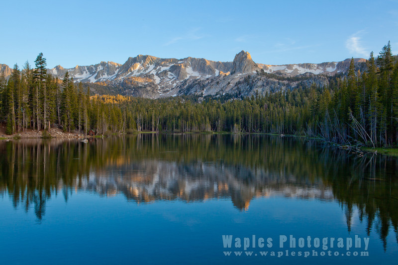Reflection - Lake Mamie, Mammoth Lakes, CA Mamie, Mammoth Lakes, CA