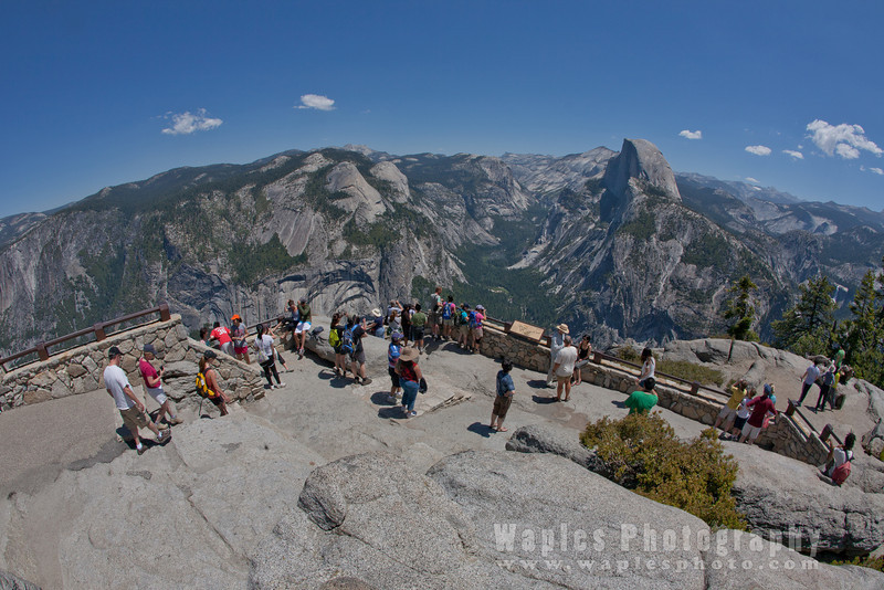 View from Glacier Point, Yosemite NP