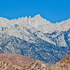Eastern Face of Mount Whitney and the Needles to the Left