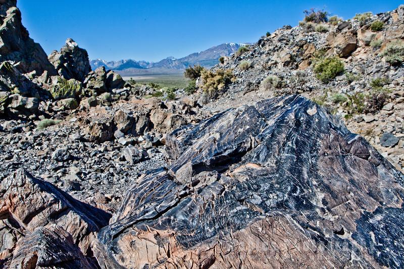 Obsidian (Lava Glass), Parnum Crater
