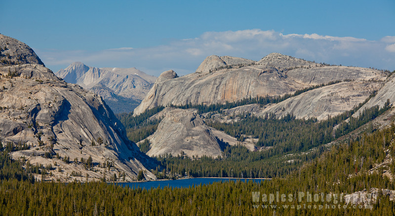 Tenaya Lake and Granite, Tioga Pass Road, Yosemite National Park