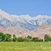 Mount Whitney and the Alabama Hills, US 395 - Lone Pine, California