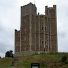 """Orford Castle, Suffolk, England (Actually this is what's left of it, I believe this part is refered to as The Keep""""<br /> Vincent Price made the movies """"Witchfinder General"""" here."""