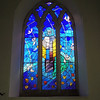 Beautiful colors in this stain glass.