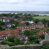 Looking out from the Castle in Orford, Suffolk, England