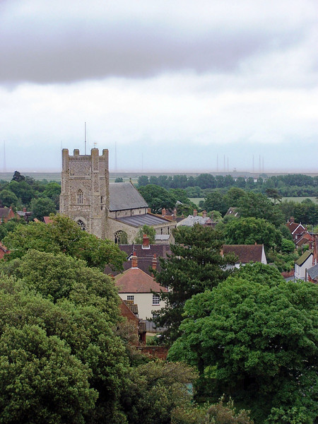 The village of Orford, Suffolk, England