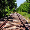 Abandoned tracks in Allen, TX