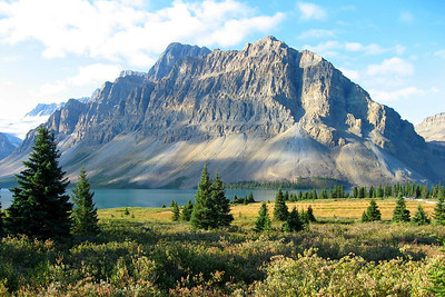Castle Mountain in Banff National Park