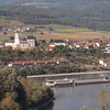 Cruise boat on the Danube-from Melk Abbey