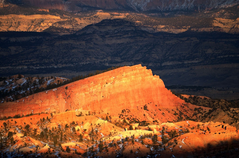 The Sinking Ship at sunset<br /> Bryce Canyon NP