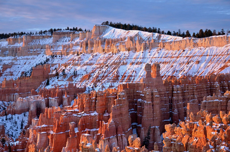 Below Inspiration Point<br /> Bryce Canyon NP