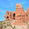 Rock climbing, Arches National Park
