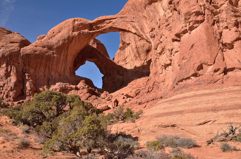 Double Arch<br /> Arches National Park<br /> <br /> It's bigger than it looks.!!!