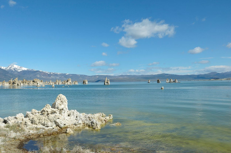 Mono Lake tufa, California