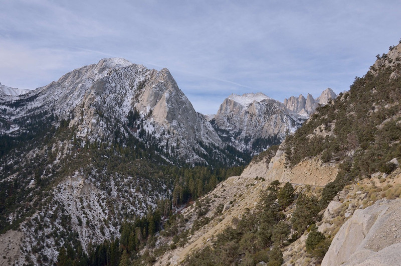 Mt Whitney & portal road<br /> Lone Pine, CA