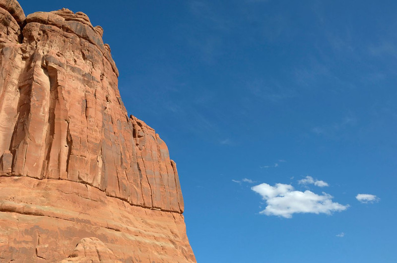 Sky and Rock, Arches National Park