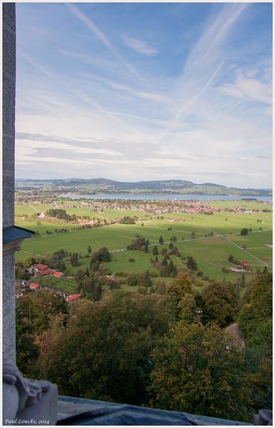 Valley below Schloss Neuschwanstein