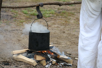 Re-enacted Boiling Water