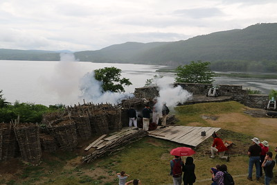 Canon Fire Demonstration