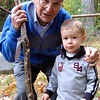 Ray and Daniel at Schroon Lake Sep 2008