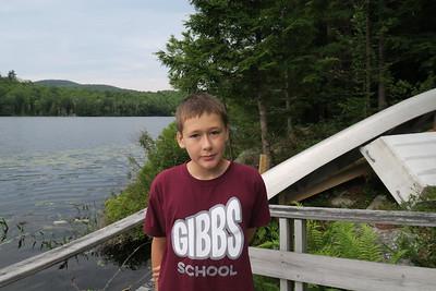 Daniel on Bullet Pond