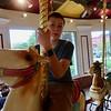 Daniel Rides the Carousel
