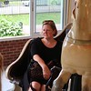 Melissa on the Carousel