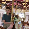 Daniel and Steve on the Carousel