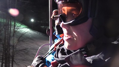 February Night Skiing