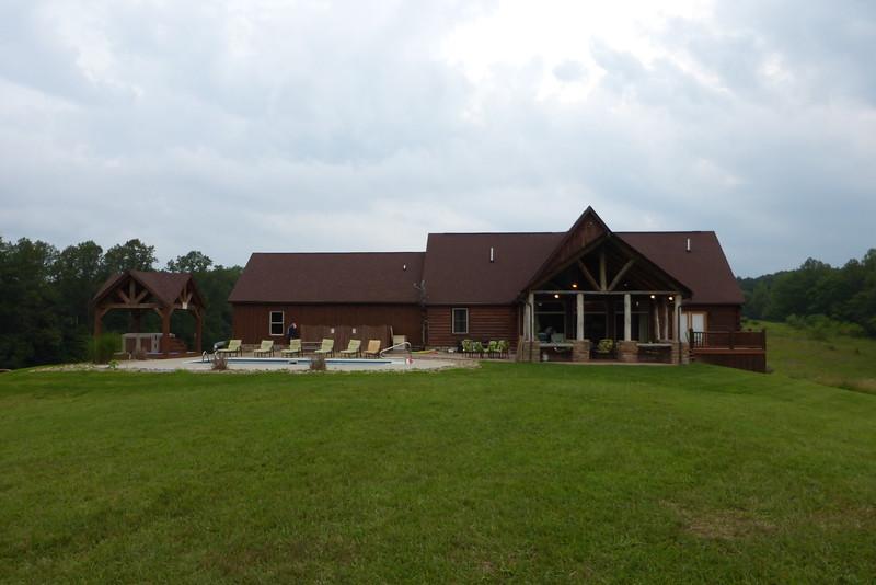 Meadows Lodge back