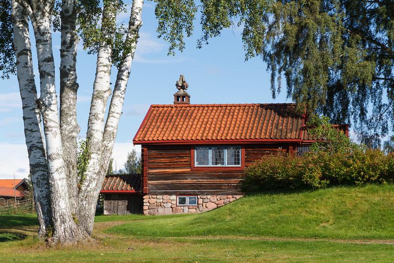 Kleines Holzhaus in Tällberg