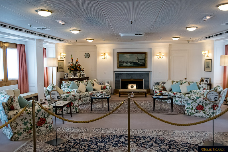 A glimpse into The Grand Drawing Room which is large enough to accommodate 250 guests. A grand piano also resides in this area but is not pictured.