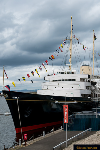During her 44 years of service Her Majesty's Royal Yacht Britannia traveled  over 1 million nautical miles making 968 state visits and visiting 600 ports in 135 countries.