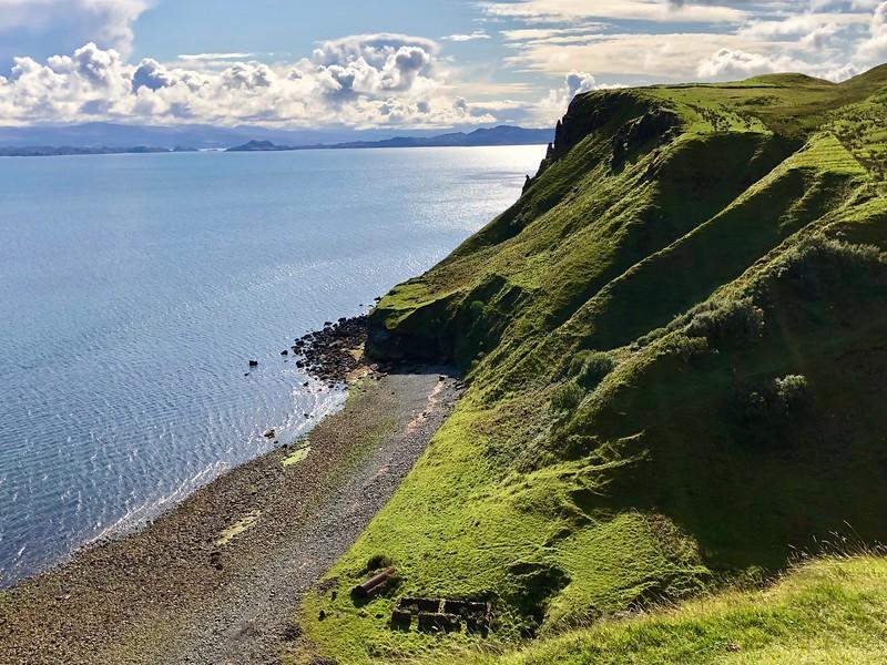 iPhone: View near Kilt Rock