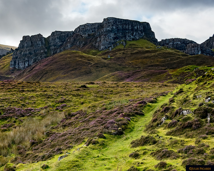 A view of the Quiraing