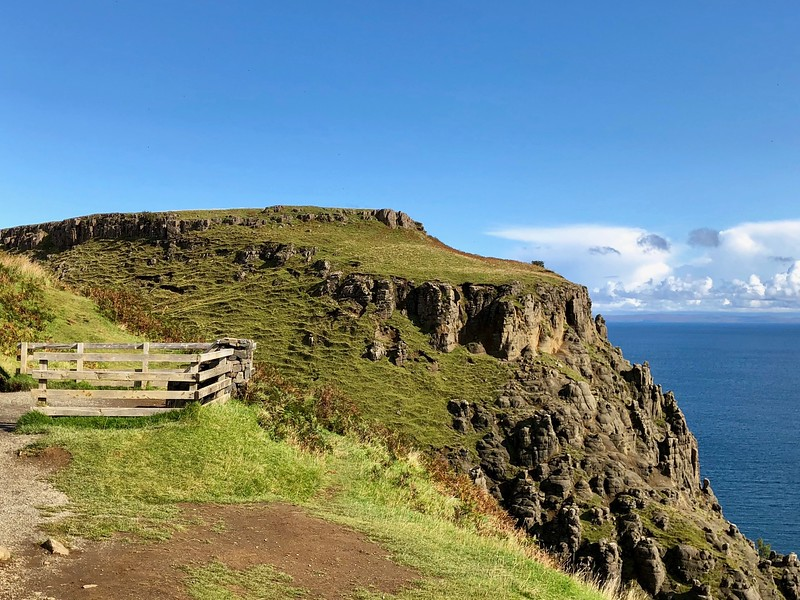 iPhone: Another view near Kilt Rock