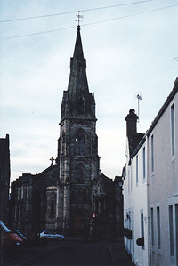 Falkland Parish Church, Scotland