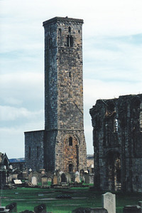 Ruins of St. Andrew's Cathedral, Scotland