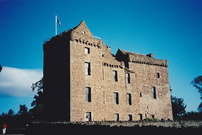 Huntingtower Castle, Scotland