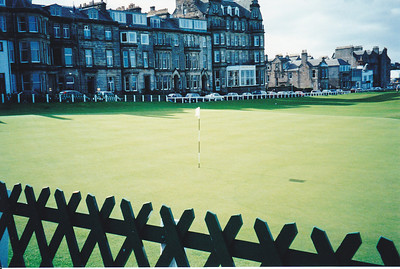 The Old Course at St. Andrew's Scotland