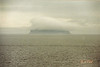 A fog-shrouded isle in the midst (and mist) of the Irish Sea.