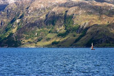 Ferry van Isle of Skye naar het vasteland