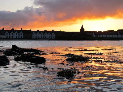 Sunrise, Port Ellen