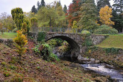 Scotland Trip, Oct. 2009 Old Bridge, Blair Castle